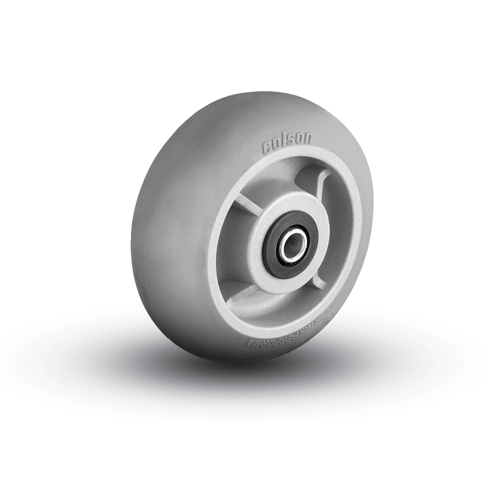 Thermoplastic Rubber on Polyolefin Wheels