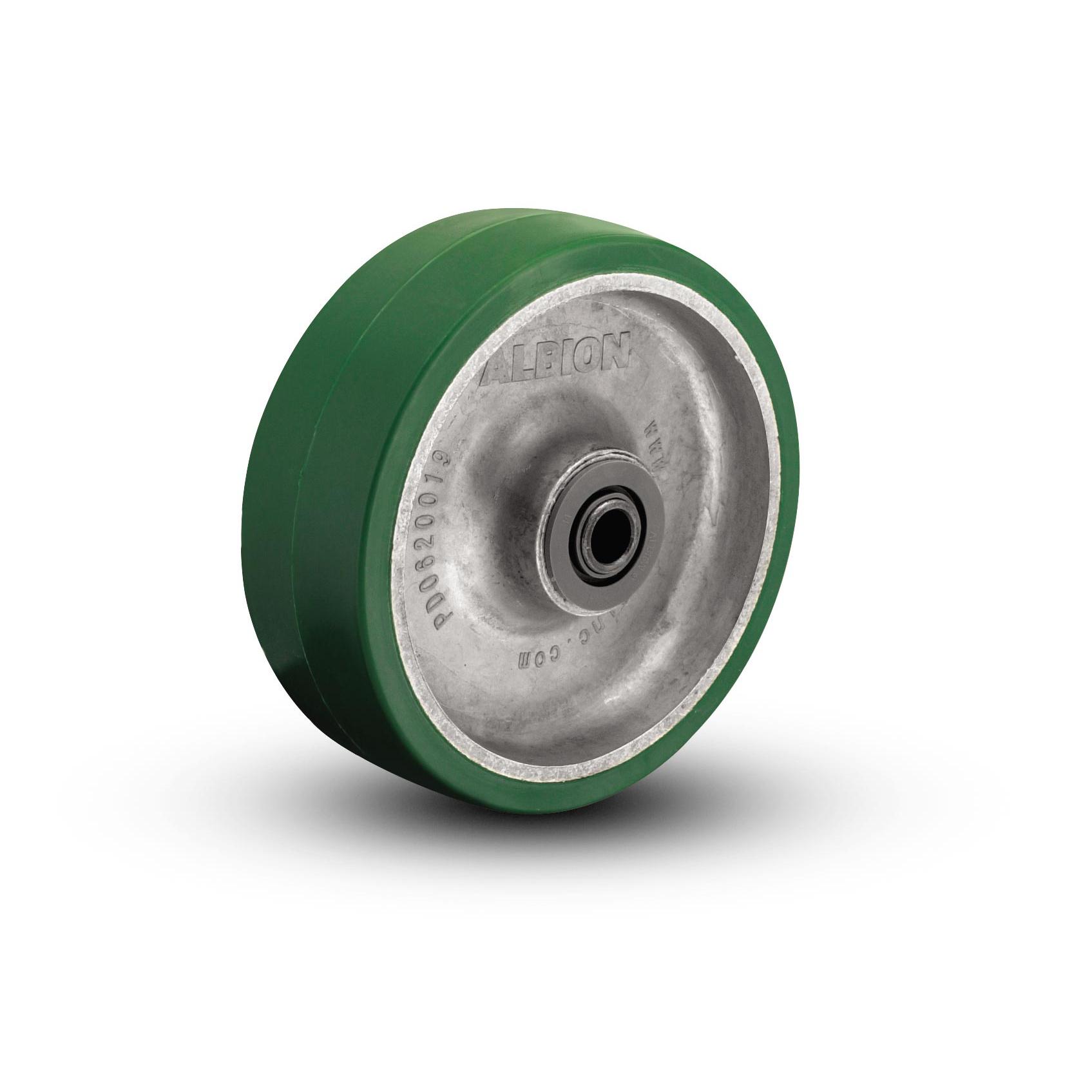 Polyurethane on Aluminum Wheels