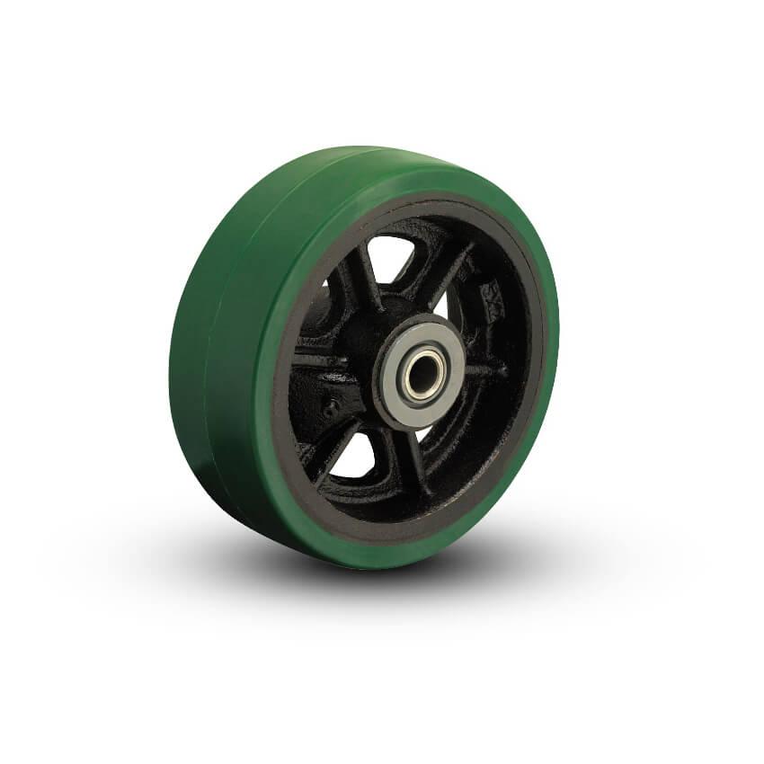 Polyurethane on Cast Iron Wheels
