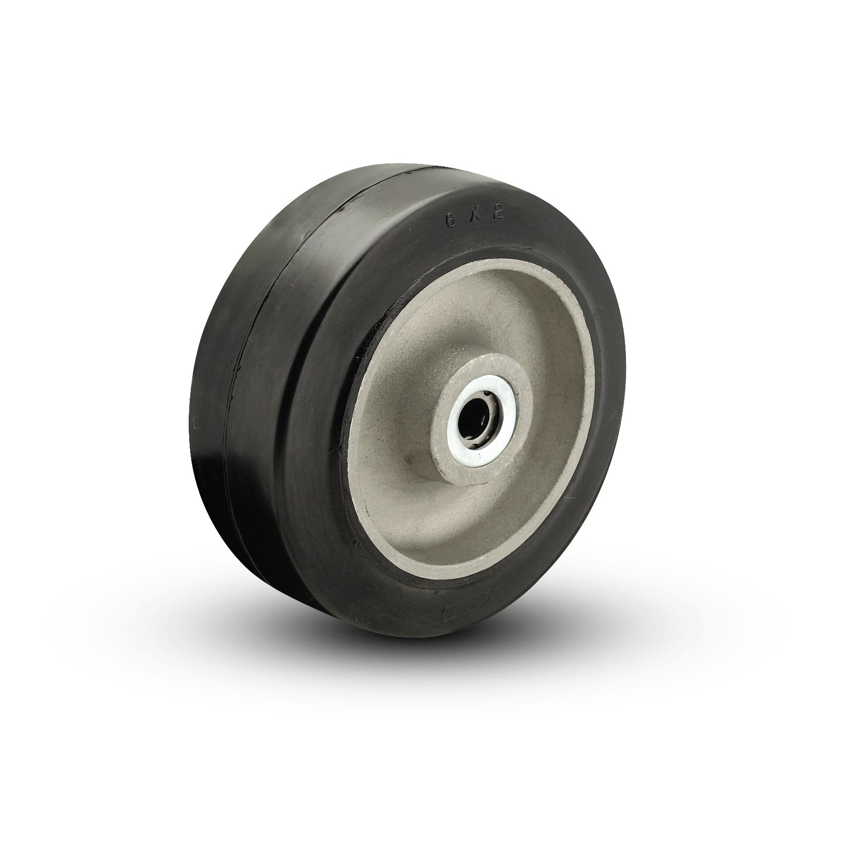 Rubber on Aluminum Wheels