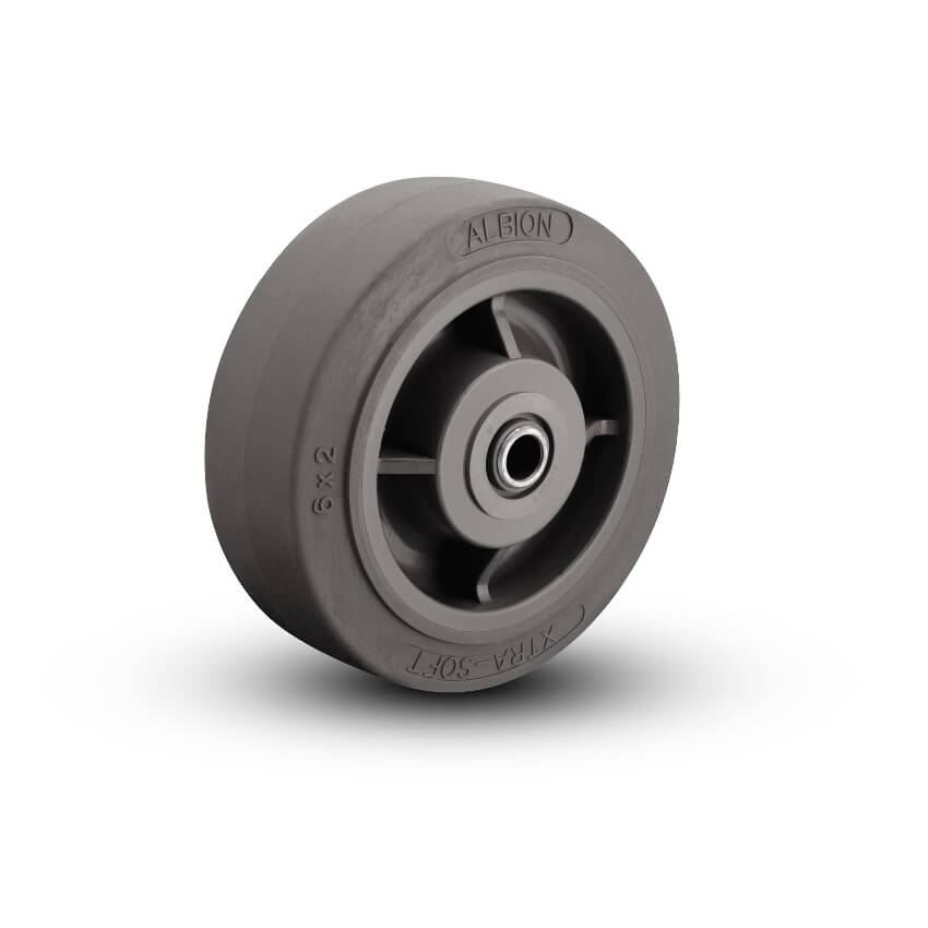 Thermoplastic Rubber on Polypropylene Wheels