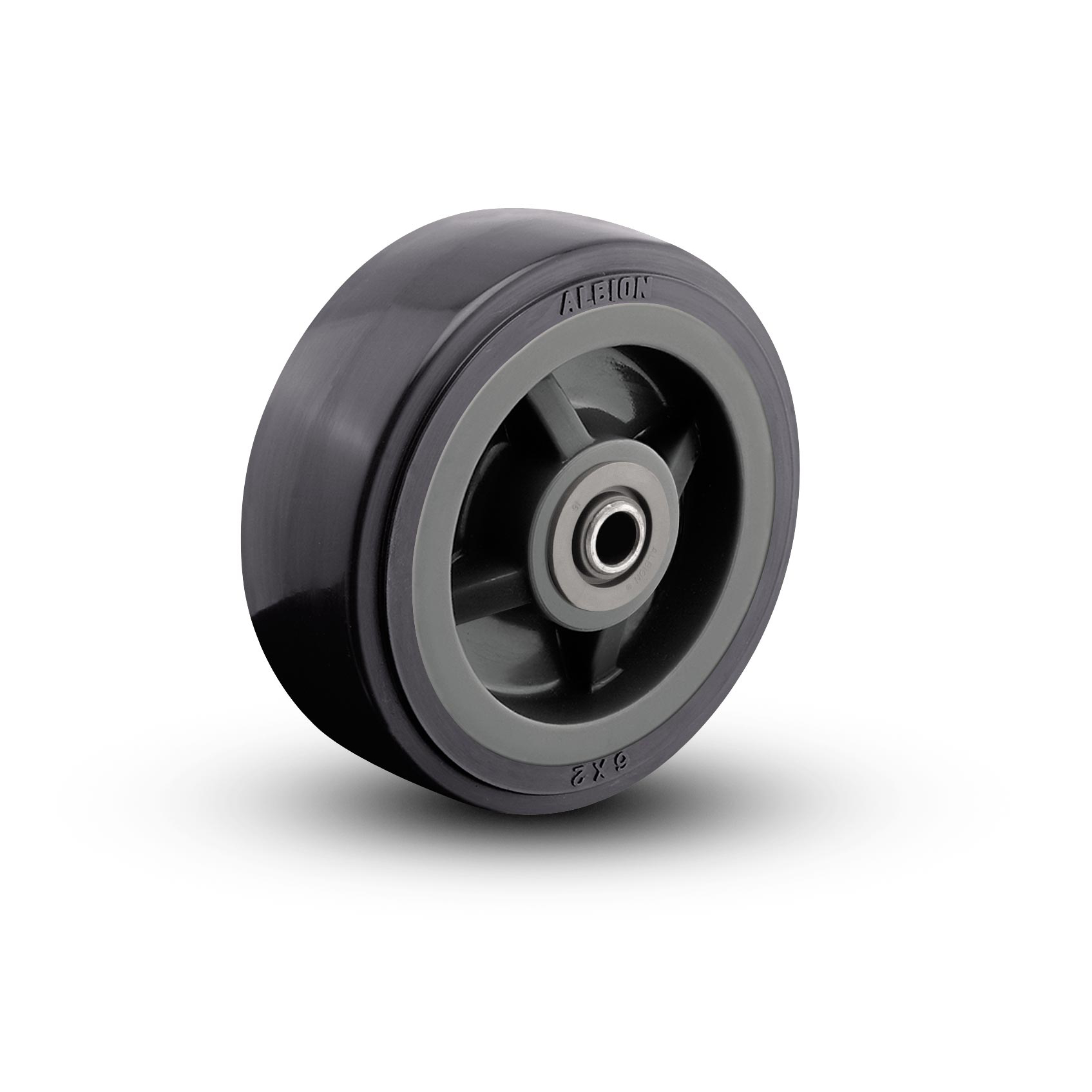 Polyurethane on Polypropylene Wheels