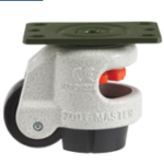Footmaster Leveling Casters: Top Plate Adaptability