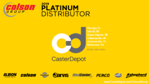 CasterDepot is a Colson Group Platinum Distributor